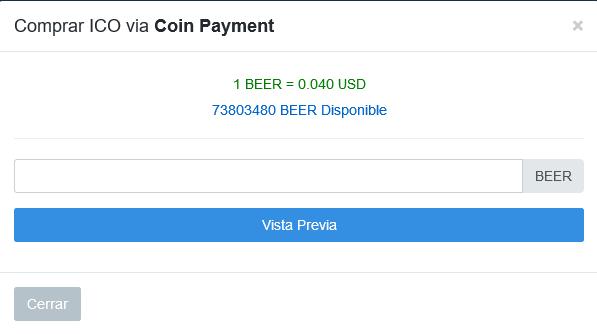 pago Token BEER